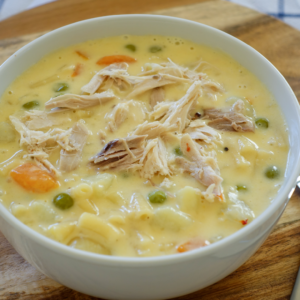 Alfredo Chicken Soup